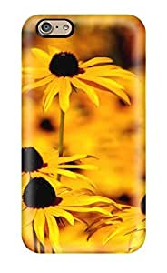 Faddish Phone Yellow Flowers Case Cover For Ipod Touch 5 / Perfect Case Cover