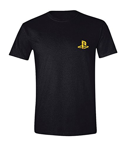 Sony Playstation T-Shirt Player (Goldfolie)