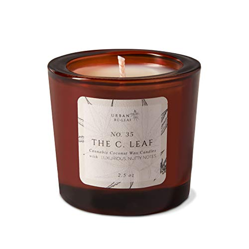 The C. Leaf Cannabis Coconut Wax Votive Candle ()