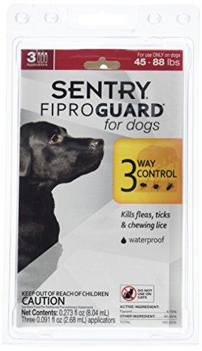 Flea&Tick Fipro Guard Dogs 45-88lbs Fip