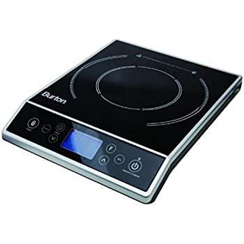 Max Burton 6400 Digital Choice Induction Cooktop 1800 Watts LCD Control