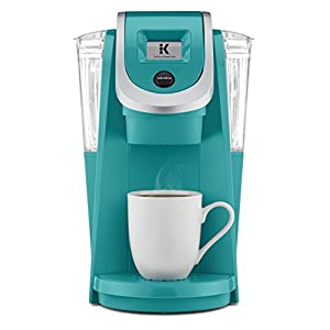 Keurig K250 Single Serve, K-Cup Pod Coffee Maker with Strength Control, Programmable, Turquoise