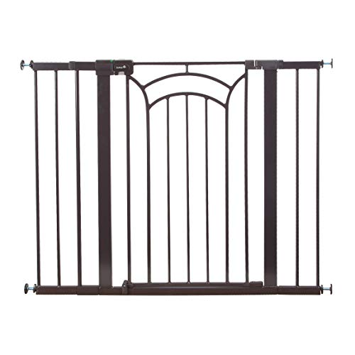 Safety 1st Décor Easy Install Tall & Wide Baby Gate with Pressure Mount - Frame Door Decorative Pet