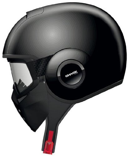 Shark RAW Blank Helmet (Black, X-Small)