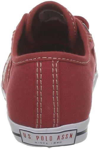 Tela Rojo Us Zapatillas rouge Deporte red De Niños Para Polo Assn XP8qwrFP