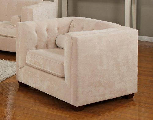 Coaster Home Furnishings Transitional Chair, Almond