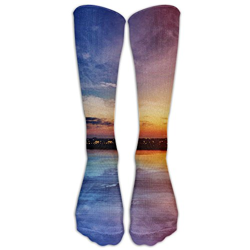 Ladies Pinkbluesky Tube Stockings Novelty Socks (Wine Gift Delivery Sydney)