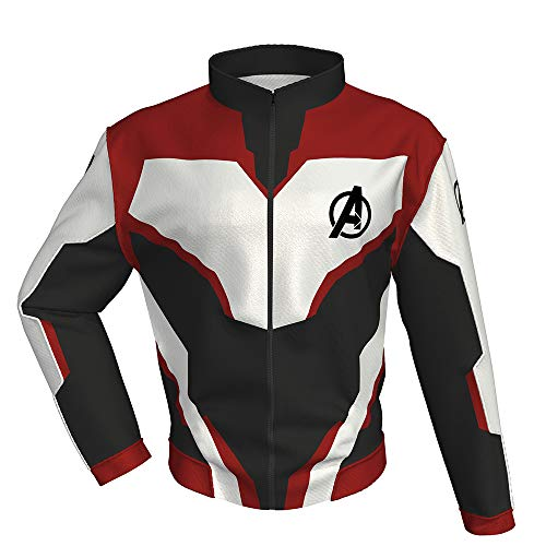 - New Men Avengers Quantum Realm Classic Pullover Hoodie Pants Cosplay Costumes Super Heroes Costume (Kids-M, Hoodie-Deluxe 01)
