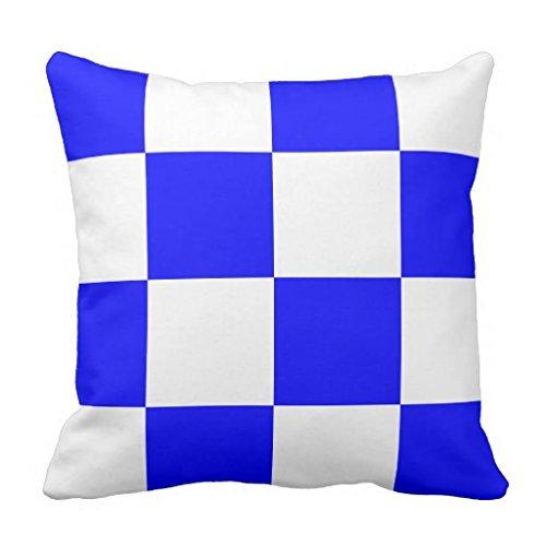 Nautical Flag Signal Letter N pillow case 22*22 (Nautical Flag Pillows)