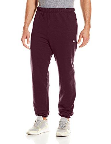Champion LIFE Men's Reverse Weave Sweatpant w/Pockets, Team Maroon, X-Large