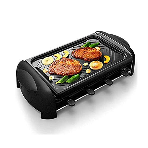 XXDTG Electric Oven,Table Grill With Non Stick Grilling Plate Person Electric Tabletop Kebab Machine