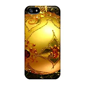 AlexandraWiebe Cases Covers For Iphone 5/5s - Retailer Packaging Christmas Ball Ornament Protective Cases