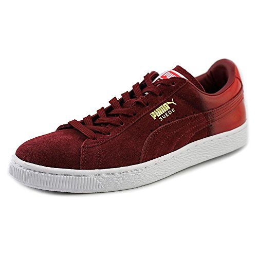 Puma Suede Emboss Sneaker Red Nyox4TJKq
