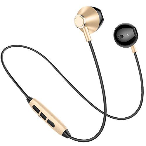 Bluetooth Headphones, Wireless V4.1 Magnetic Stereo Earphone