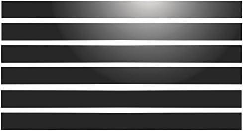 Command Bilder Montagestreifen 6 Eins/ätze f/ür Schallzeichen 28 x 2 cm wei/ß retroreflektierend