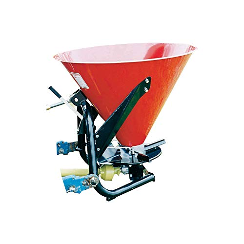 Farm Star 3-Pt. Spreader with Gearbox and PTO Driveline - Category 0-1, 500-Lb. Capacity
