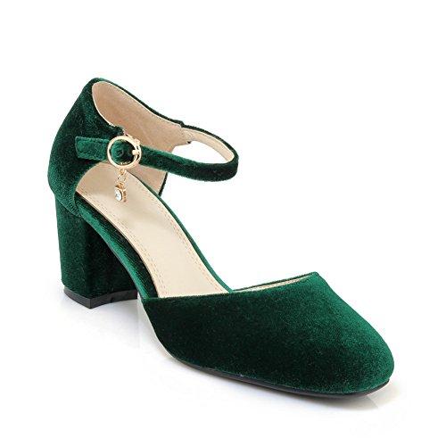con 35 Zeppa Donna 1TO9 Sandali Green EU Verde fxYq6wg15