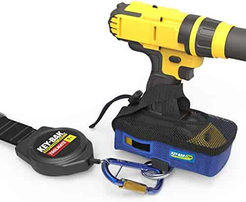 Key-Bak Pro ToolMate 5 lb. Retractable Tool Tether & Cordless Power Drill Boot Kit (ANSI 121 Certified)