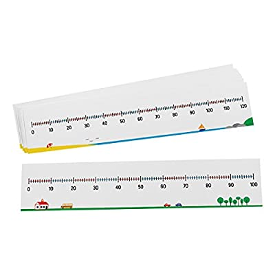 Didax Educational Resources 0-100/0-120 Number Line, Set of 10: Arts, Crafts & Sewing