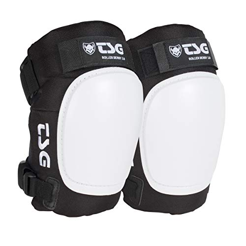 (TSG - Kneepad Roller Derby 3.0 Pads for Skateboard (Black, XL))