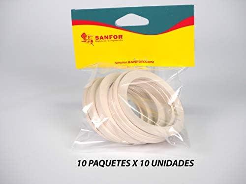 Sanfor 85120 Caja 100 Junta Cafetera O.L. de 3 Tazas Granel ...