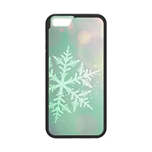 "Snowflake DIY Case for Iphone6 Plus 5.5"", Custom Snowflake Case"