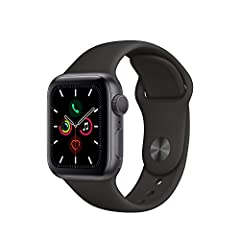 Apple Watch Series 5 has a display that's always on, showing the time and important information—no need to raise your wrist. It helps you navigate with the built-in compass. Lets you check on your heart with the ECG app. Tracks your workouts ...