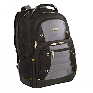 "Targus Drifter II 16"" Laptop Backpack (Black/Grey)"