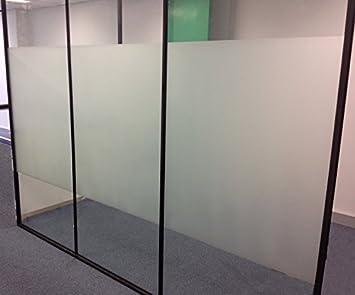 Aingoo Fensterfolie Fenster Dekorfolie Sichtschutzfolie Bad Milchglasfolie Selbstklebend Window Film Sonnenschutzfolie Fur Wintergarten Badezimmer