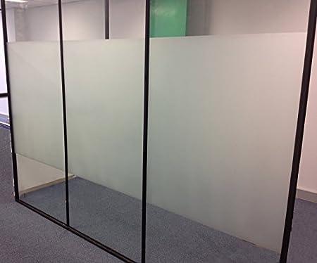 Aingoo Fenêtre Autocollant Film Depoli Translucide Pour Vitrage Fenêtre Intimité - Rouleau De 90x 200cm 018