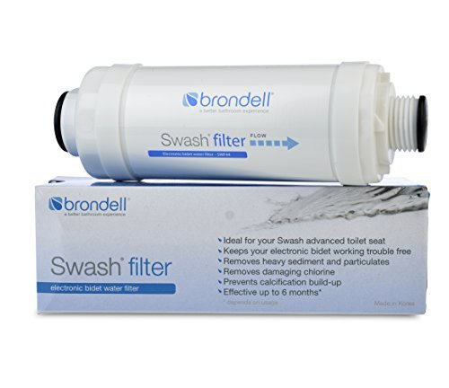 Brondell SWF44 Swash Electronic Bidet Water Filter