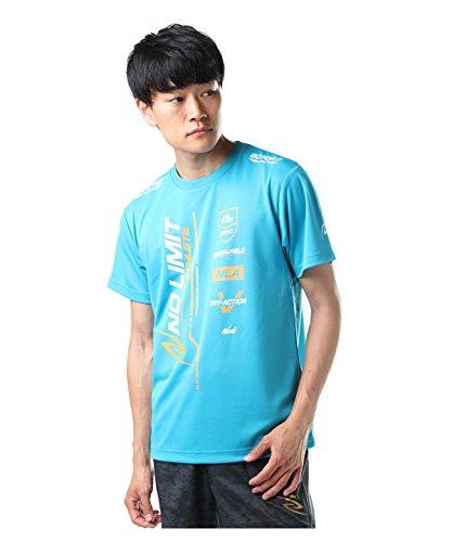 頑張る胸うんニシ スポーツウェア 半袖Tシャツ アスリートプライド NO LIMIT ATHLETE HS N63-053HS-47 OBL S