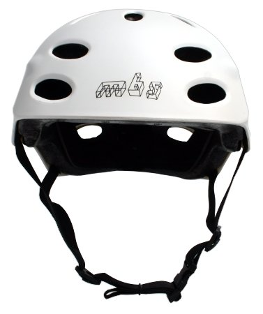 MBS Bright Idea Helmet (White, Small/Medium)