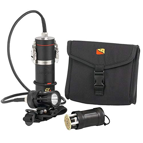 (Dive Rite HP50 Scuba Light System Combo Package Canister Handheld )