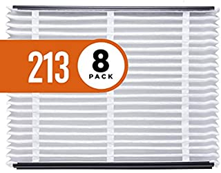 product image for Aprilaire - 213 A8 213 Replacement Air Filter for Whole Home Air Purifiers, Healthy Home Allergy Filter, MERV 13 (Pack of 8)