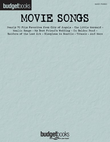 Classical Themes Easy Piano - Movie Songs: Easy Piano Budget Books