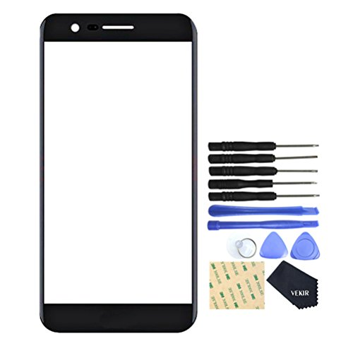 VEKIR Screen Glass Lens Replacement for LG K8(2017) X240 X240H US215(BLACK)