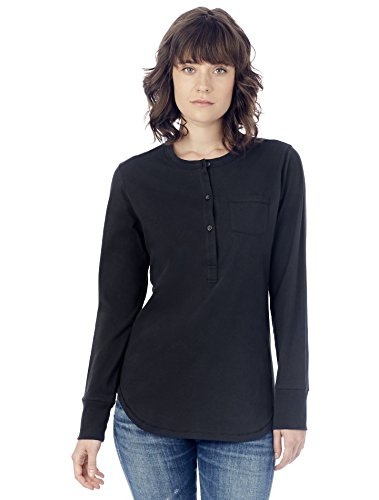 Alternative Women's Organic Pima Henley Top