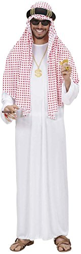 Sheik Fancy Dress (Arab Sheik Costume Extra Large For Manchester City Fancy Dress)
