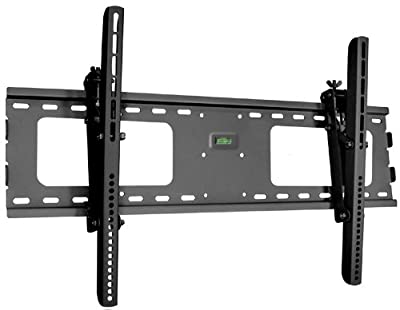 "Black Adjustable Tilt/Tilting Wall Mount Bracket for LG 43LX310C 43"" inch LED Commercial TV"