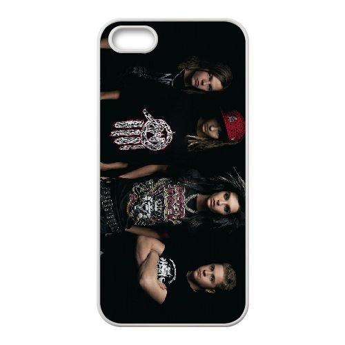 Tokio Hotel Normal coque iPhone 4 4S cellulaire cas coque de téléphone cas blanche couverture de téléphone portable EOKXLLNCD20442