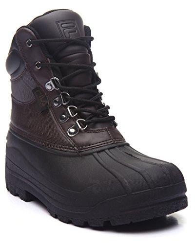 Fila Men's Weathertech Extreme Rain Boots, Brown, 12 ()