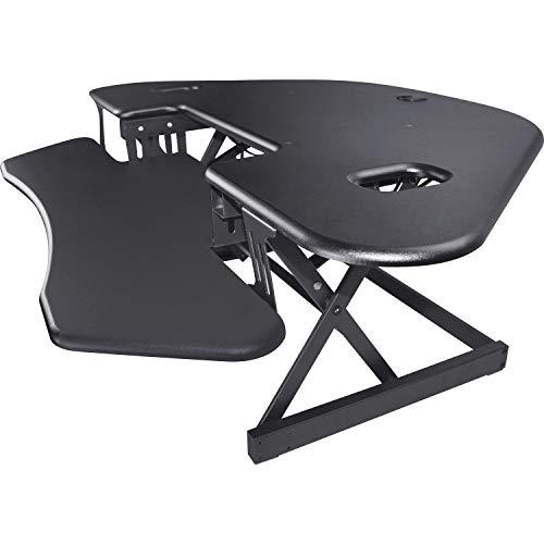 Lorell Corner - Lorell LLR82014 Corner Desk Multipurpose Desktop Riser Black