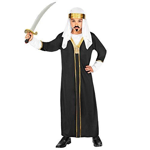 WIDMANN 00276 Kinderkostüm Sultan, Jungen, Schwarz, 128 cm