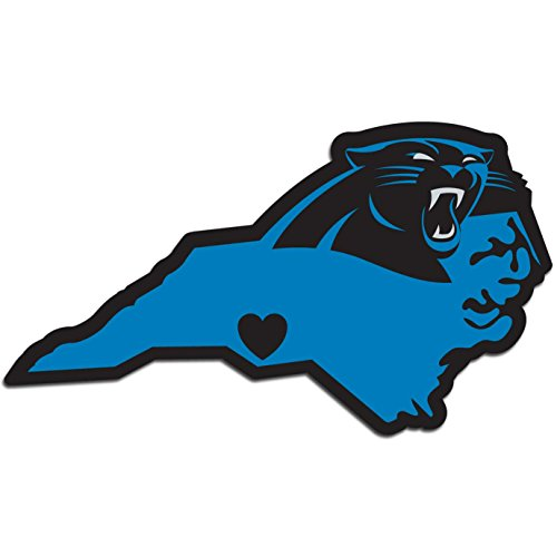 NFL Carolina Panthers Home State Decal, 5