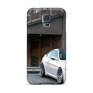 Hot Style JMO9112xYst Protective Cases Covers For GalaxyS5(bmw M6 Car Wheels Tuning)