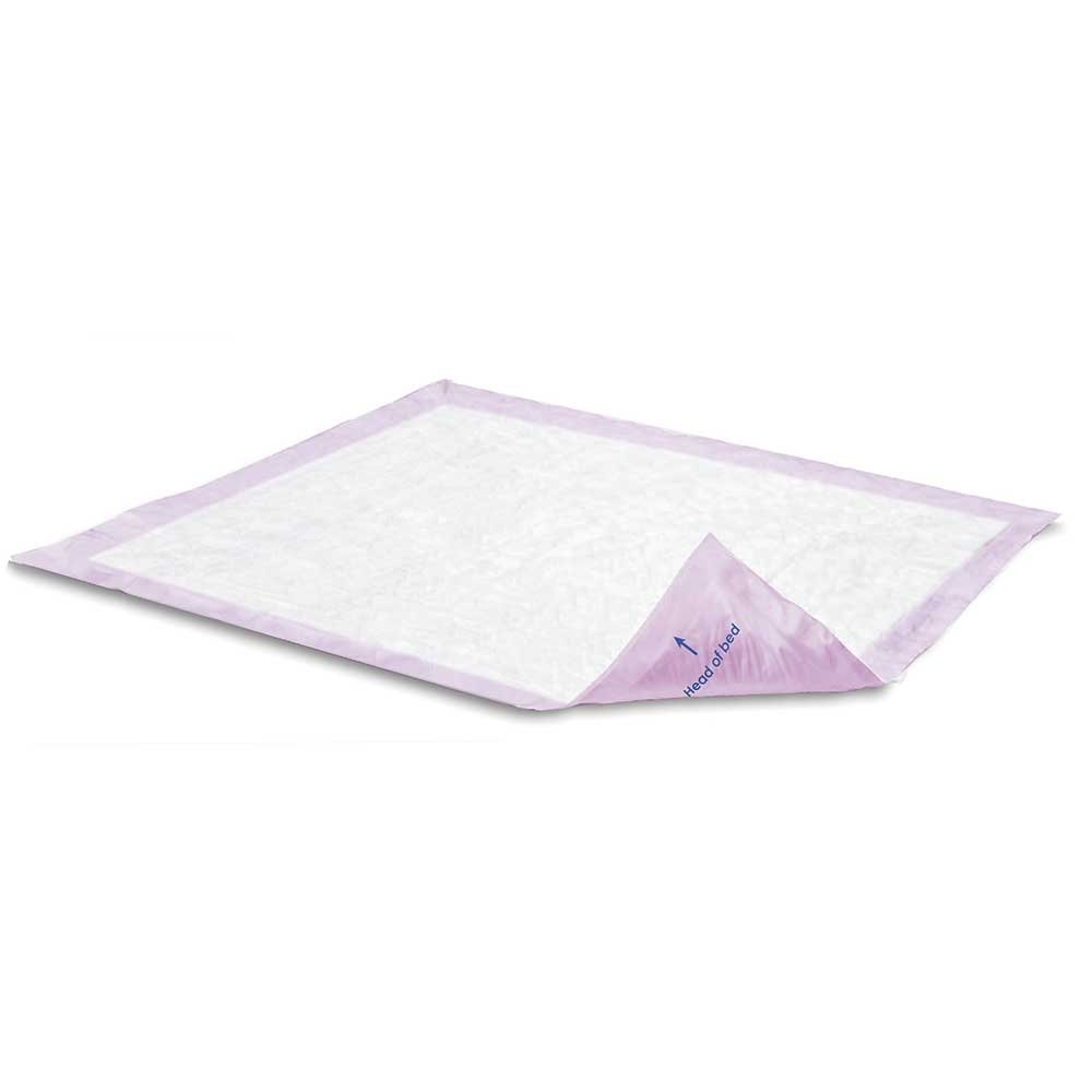 Attends SuperSorb Breathable Underpads, Max Strength Purple, 30x36, Case/60 (12/5s) by Attends