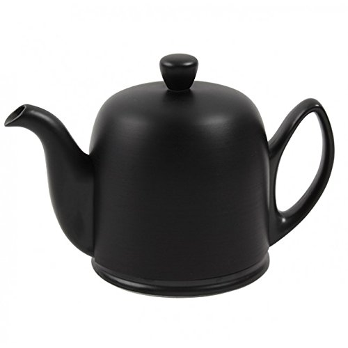 Salam Total Black Matt Look 6 Cup Teapot 52oz. By Guy Degrenne