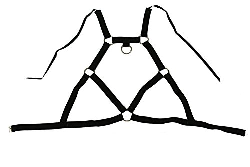 Damen Gummi Geschirre,Harness L/XL