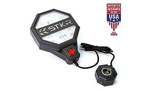 STKR Concepts 00-246 Adjustable Garage Parking Sensor Aid, Dark Gray